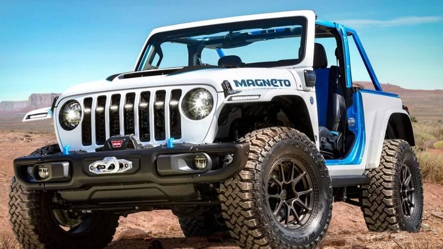 Jeep Magneto ainda é um protótipo, mas é um elétricos dos candidatos a serem fabricados em série