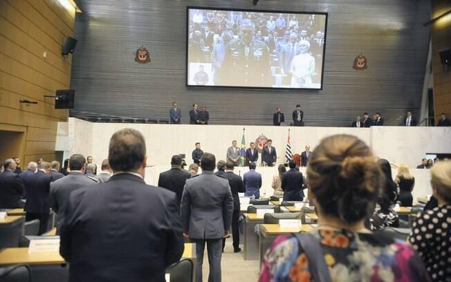Deputados tomam posse na Assembleia Legislativa de São Paulo (Alesp)