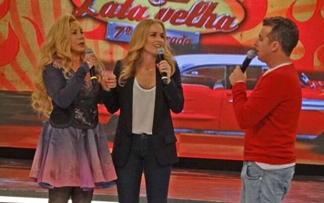 Arlete Salles, Angélica e Luciano Huck