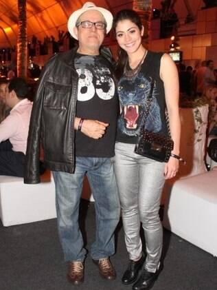 Carol Castro e o pai, Lucas