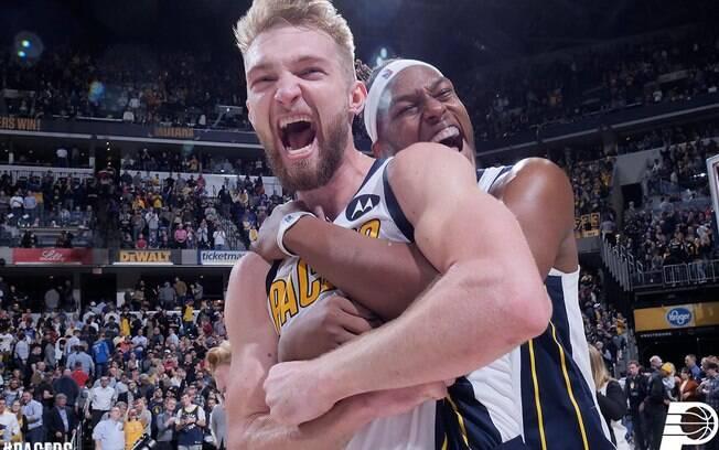Com a vitória nesta rodada da NBA, franquia de Indiana está muito próxima dos playoffs