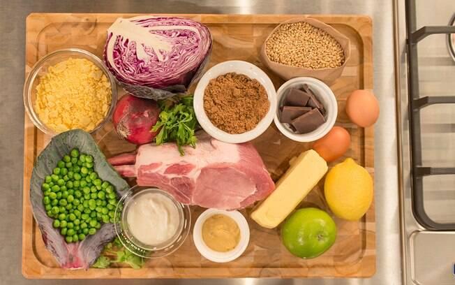 Saber os ingredientes é fundamental para fazer uma receita