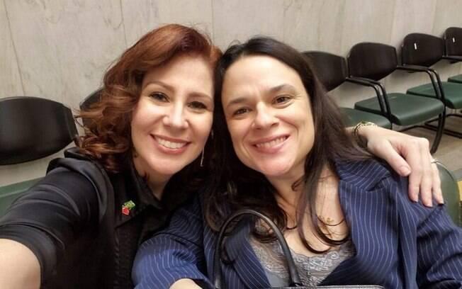 Carla Zambelli e Janaina Paschoal