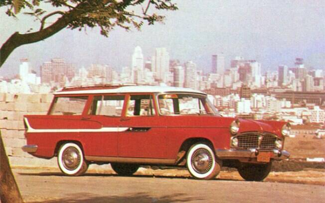 Disputada por colecionadores, a Simca Jangada é uma station wagon com o estilo dos anos 60