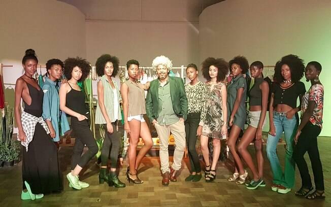 Helder Dias faz a diferença no mundo da moda revelando a beleza negra