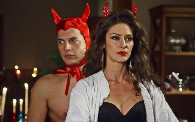 Maria Fernanda Cândido como Sandra: de patinho feio a furação