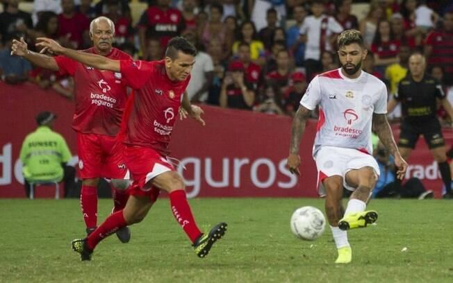 Gabigol participou do Jogo das Estrelas de 2018 e, depois, fechou com o Flamengo