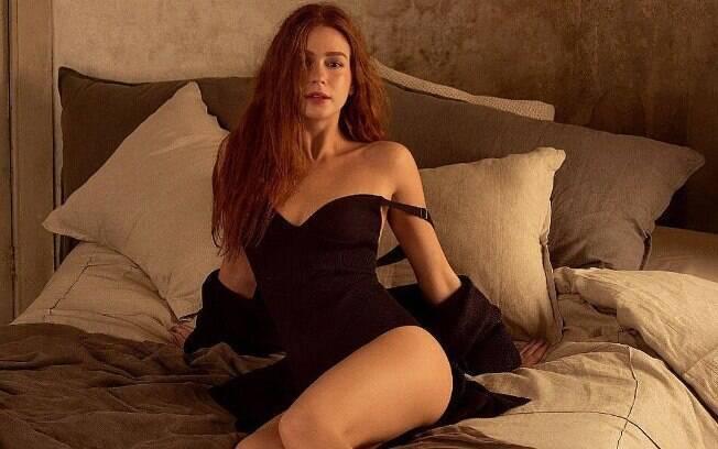 Marina Ruy Barbosa posta foto sensual no Instagram e ganha diversos elogios de seus seguidores