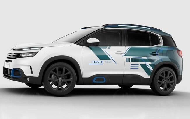 O SUV Citröen C5 Aircross híbrido é um dos modelos que poderá chegar ao Brasil em 2020
