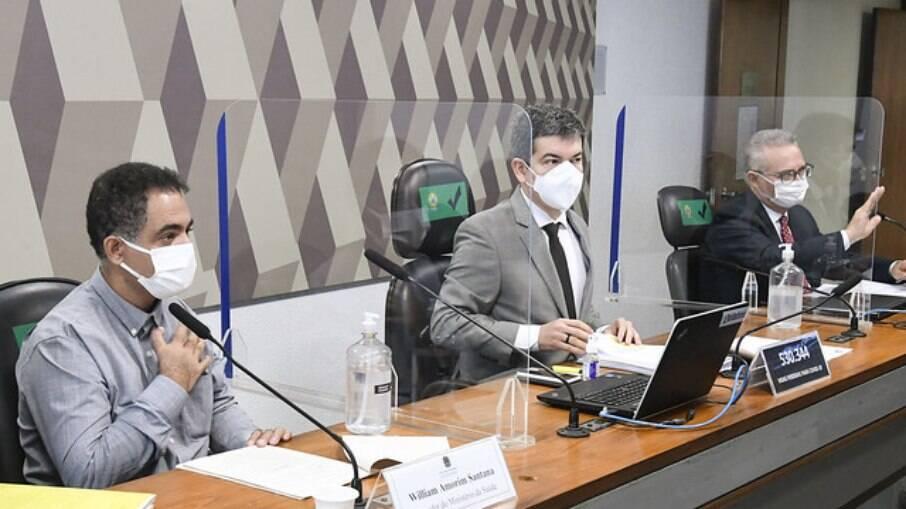 Servidor e técnico da divisão de importação do Ministério da Saúde, William Amorim Santana