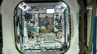 Astronautas da SpaceX já estão na Estação Espacial Internacional