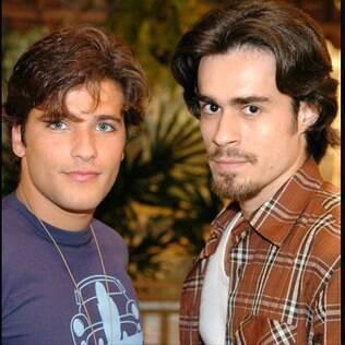 Junior (Bruno Gagliasso) e Zeca (Erom Cordeiro) em 'América'