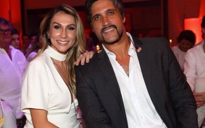 Leo Chaves e Tatianna Sbrana anunciaram a separação após 15 anos de casamento