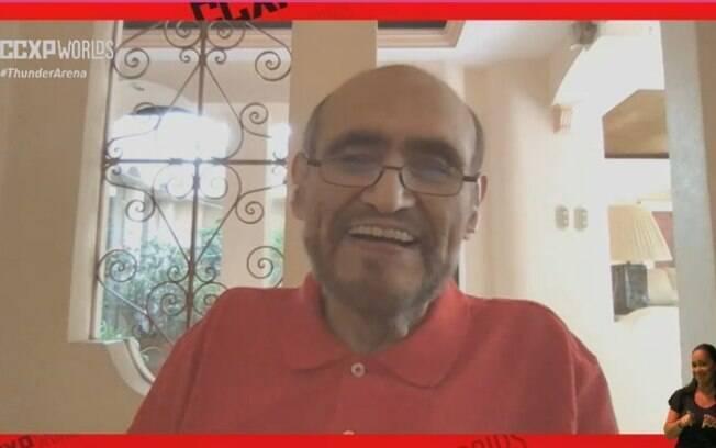 Edgar Vivar conta histórias sobre os bastidores de Chaves em painel da CCXP