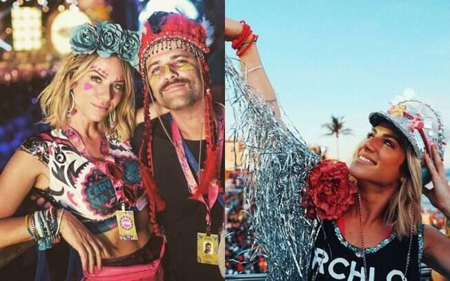 Giovanna Ewbank no carnaval 2018