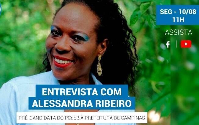 Alessandra Ribeiro será entrevistada pelo iG nesta segunda-feira.