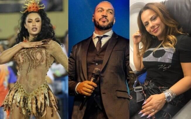 Belo x Viviane Araújo x Gracyanne Barbosa