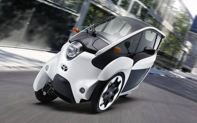 Ultracompacto, identificado i-Road, será apropriado à mobilidade e lançará durante os Jogos Olímpicos de Tóquio em 2020