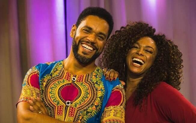 César Melo e Paula Lima