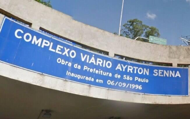 Túneis Ayrton Senna II e Tribunal de Justiça do Estado serão interditados às 23h30 de hoje