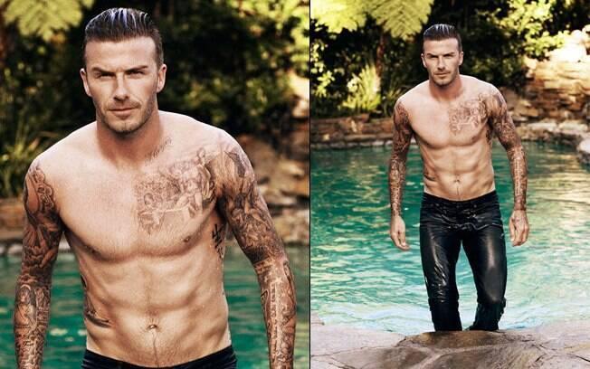 David Beckham falou à publicação que gosta de morder as pernas de sua filha mais nova