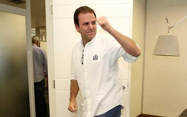 Prefeito eleito do Rio de Janeiro, Eduardo Paes (DEM) tomou posse nesta sexta-feira (1º)