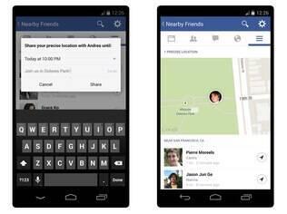 Usuário pode escolher por quanto tempo irá compartilhar a sua localização com outros contatos que usam o recurso
