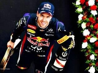 Sebastian Vettel conquistou quarta vitória consecutiva na temporada 2013 da F1