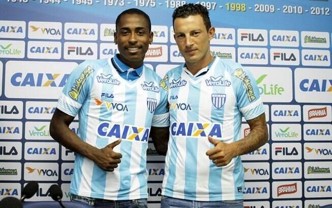 Denilson e Gustavo, reforços do Avaí