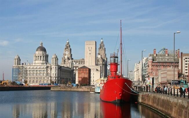 Região do Mersey, em Liverpool: mais um ponto do roteiro Harry Potter
