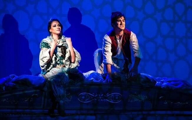 Cena de Aladdin%2C o musical