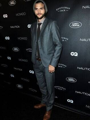 Ashton Kutcher no evento da revista