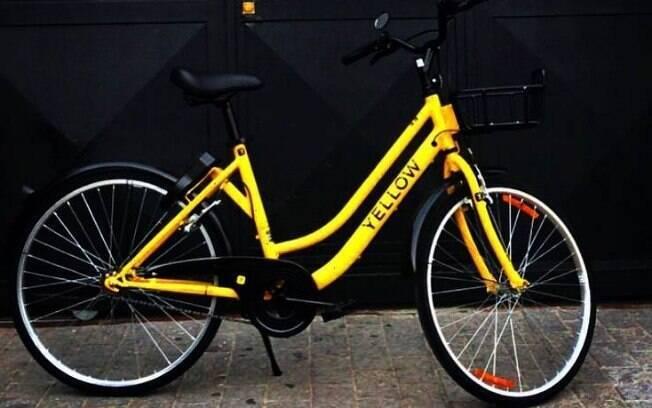 Bicicleta Yellow tem sido alvo de vandalismo após o lançamento da plataforma