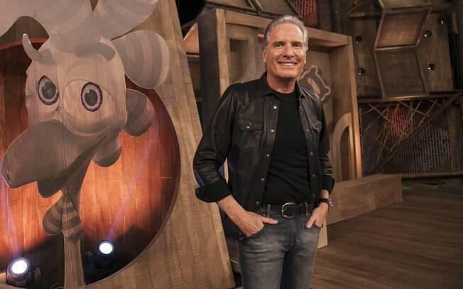 Roberto Justus foi o apresentador do realitu show