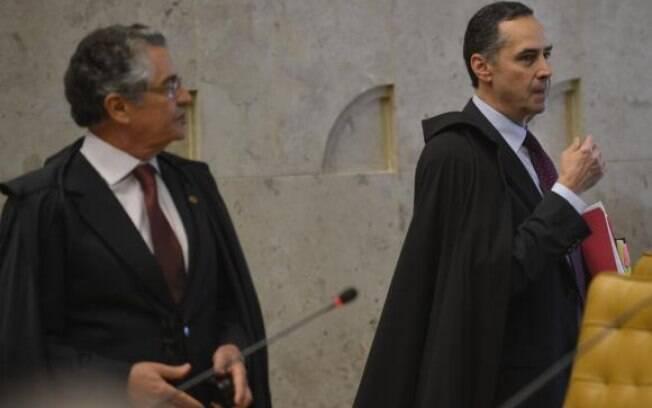 Marco Aurélio Mello e Luís Roberto Barroso se pronunciaram sobre saída de Moro do governo