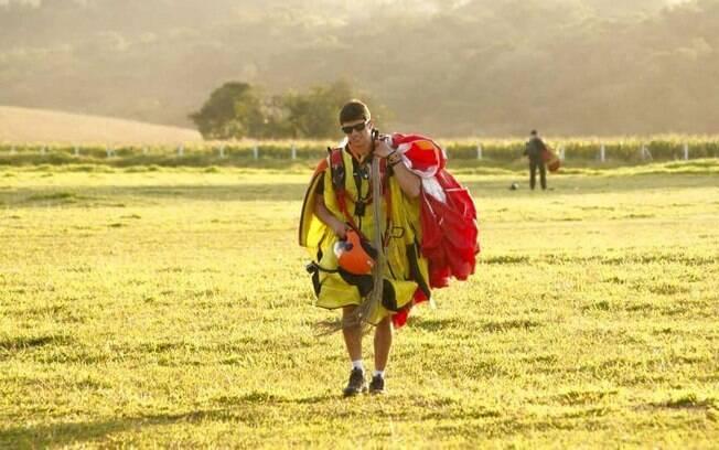 Além de alpinismo, Lucas de Zorzi gostava de praticar outros esportes radicais