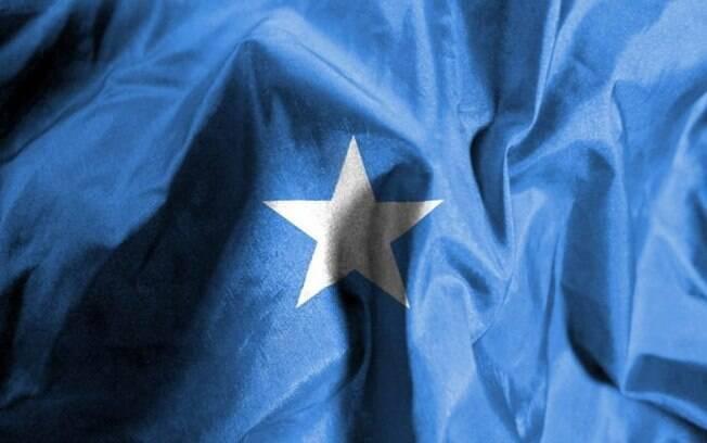 Bandeira da Somália; cidade de Barawe já foi ocupada pelo grupo extremista al-Shabab, ligado à Al-Qaeda