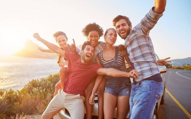 Fazer amigos é uma forma de aproveitar melhor a sua viagem