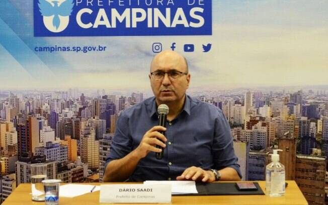 Dario faz live hoje para definir fase emergencial em Campinas