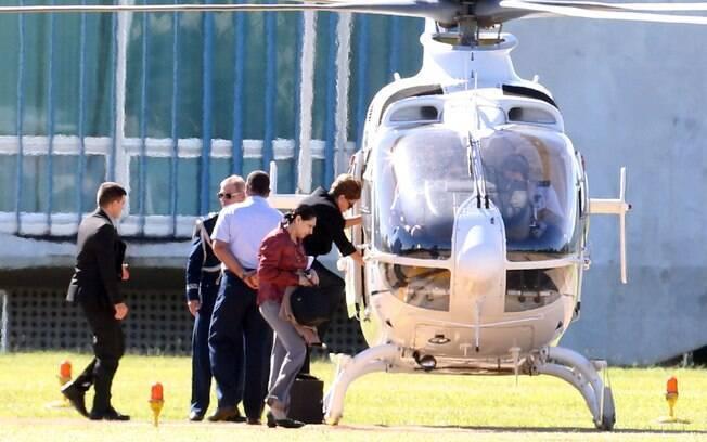 Para a viagem de mudança, Dilma Rousseff deve utilizar, pela última vez,  um avião da Força Aérea Brasileira (FAB)