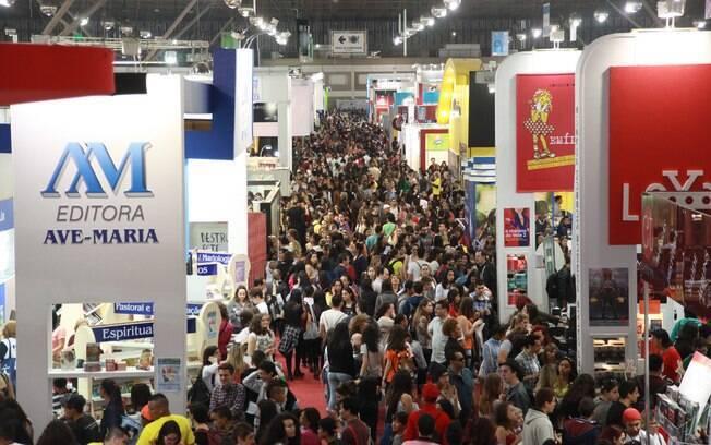 A 25ª edição da Bienal do Livro de São Paulo acontece entre os dias 3 e 12 de agosto de 2018