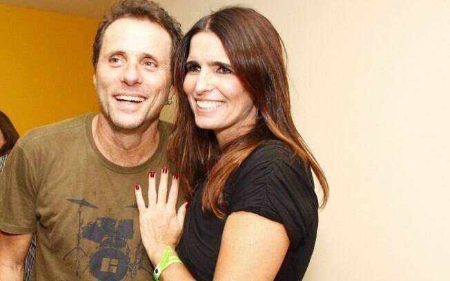 Tony Belloto e Malu Mader são casados desde 1990