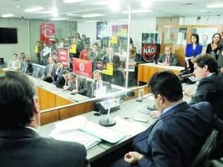 Reunião. A Comissão de Administração Pública da Assembleia aprovou na última terça-feira o Projeto de Lei Complementar (PLC) 59