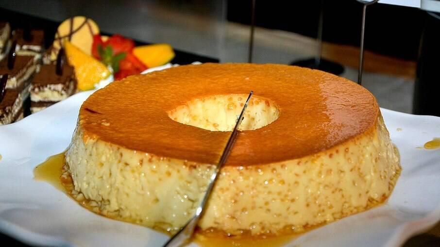 O pudim é uma das sobremesas mais populares