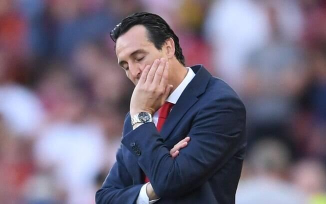 Após sequência ruim, Arsenal anuncia demissão de Unai Emery