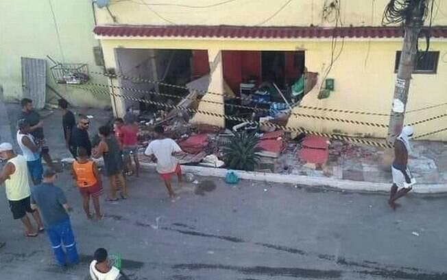 Explosão de gás em São João do Meriti