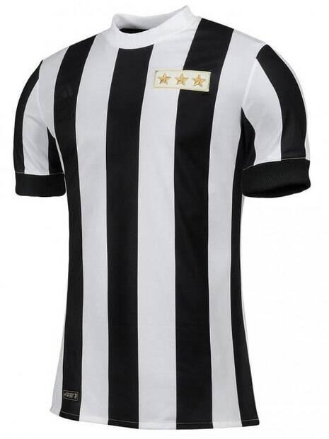 A bela camisa retrô lançada pela Juventus