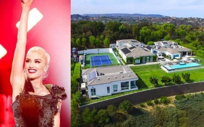 A cantora Gwen Stefani está vendendo a casa por U$35 milhões