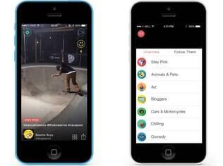 Disponível para iOS, Stey é um aplicativo que permite ao usuário fazer vídeos de 15 segundos com trilha sonora direto do iTunes