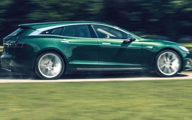 Tesla Model S Shooting Brake: entre as peruas, é uma das únicas elétricas e com tecnologia de direção autônoma